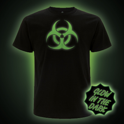 Glow in the Dark Bio Hazard T-shirt
