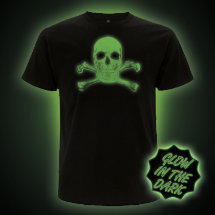 Glow in the dark Skull T-shirt