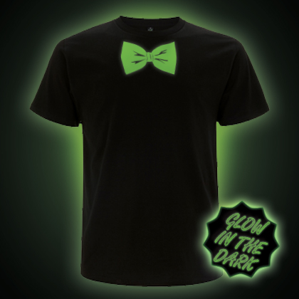 Glow In The Dark Bow Tie T-Shirt