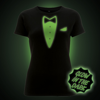 Glow in the dark Tuxedo t-shirt